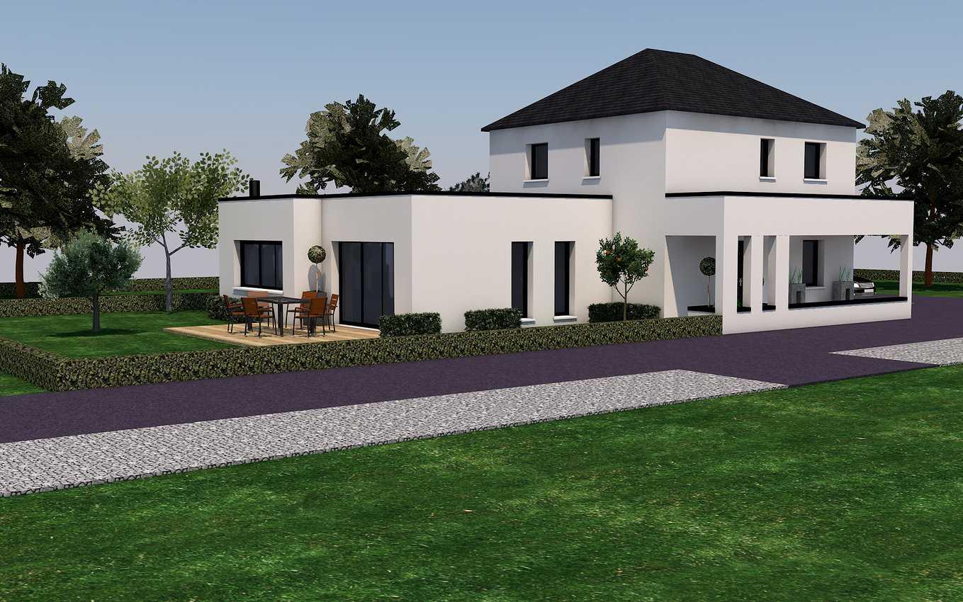 Projet de construction sur la commune de Pommeret 22120 0