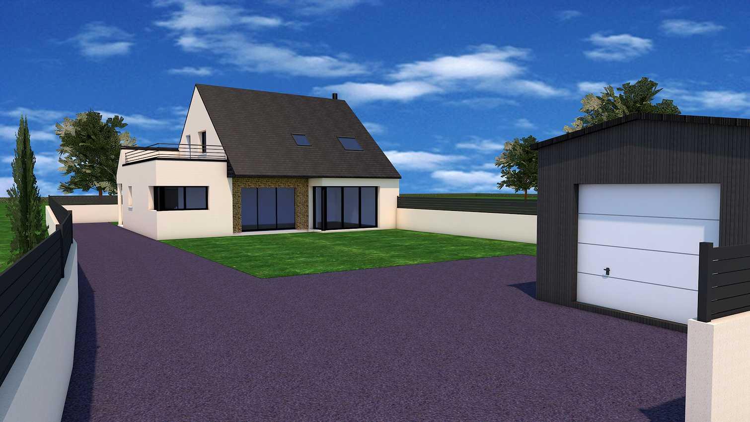 Permis de construire sur la commune d''Erquy 22430. insertionpcmi6
