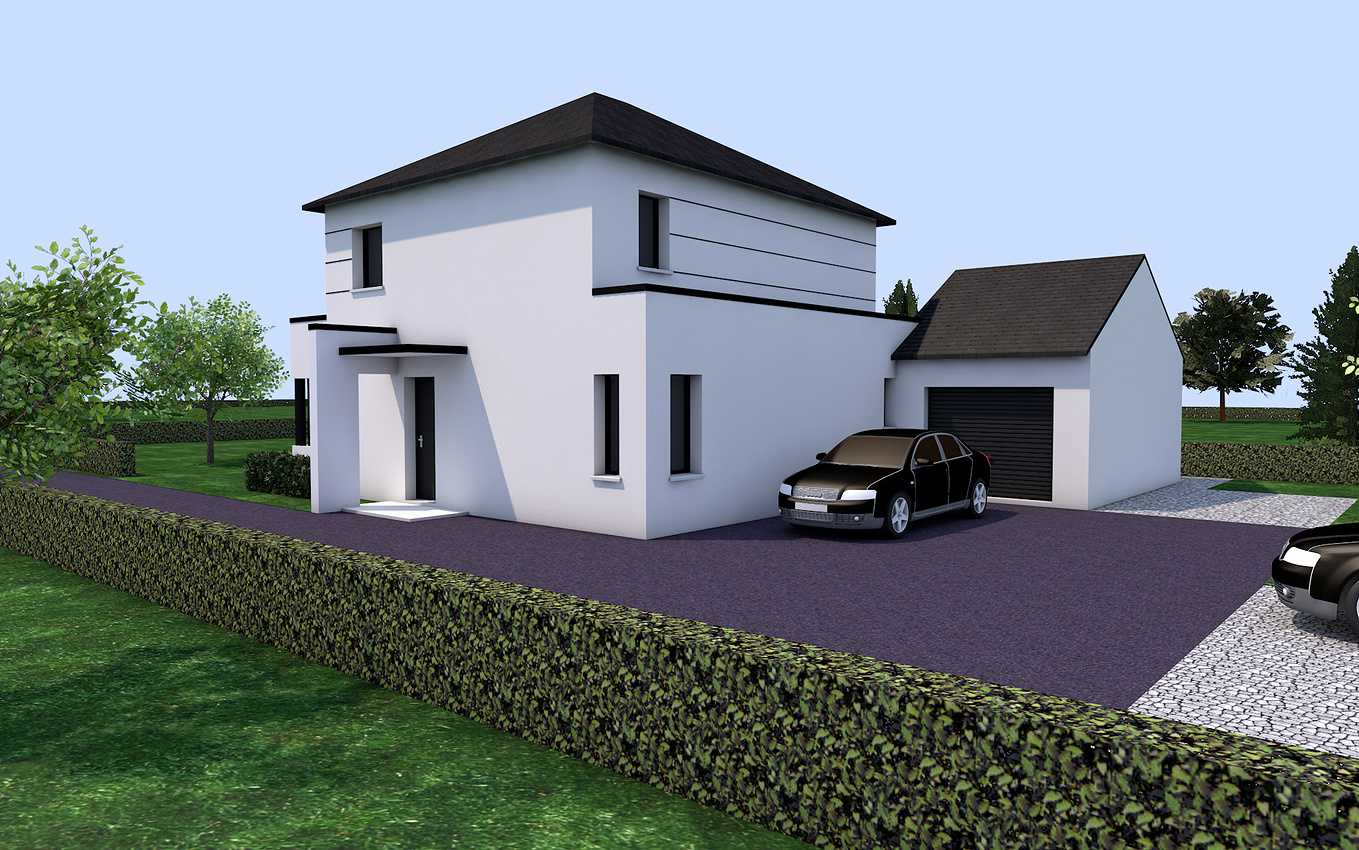 Projet de construction sur la commune de Pluduno. presentation1