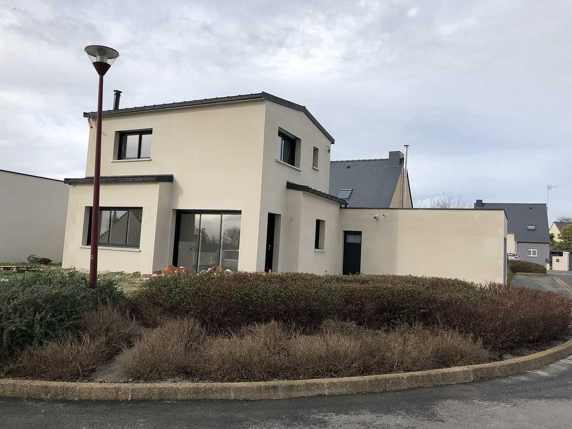 Maison contemporaine à Planguenoual 22400 - Côtes d'Armor (22) img0186